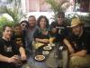 17 06 Arrivée au Cyclo hôtel accueillis par notre ami Jean-Pierre le gérant.JPG