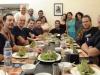 17 07 Excellent repas d'accueil au Green par Kek Galabru responsable de la Licado et Francois son mari .JPG