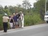 20 09 Sur la route pour la deuxiäme prison de la journÇe avec Sarin.JPG